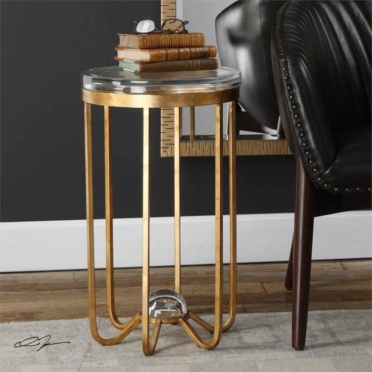 Allura Accent Table - by Uttermost