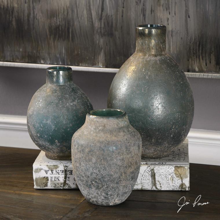Mercede Vases S/3 by Uttermost
