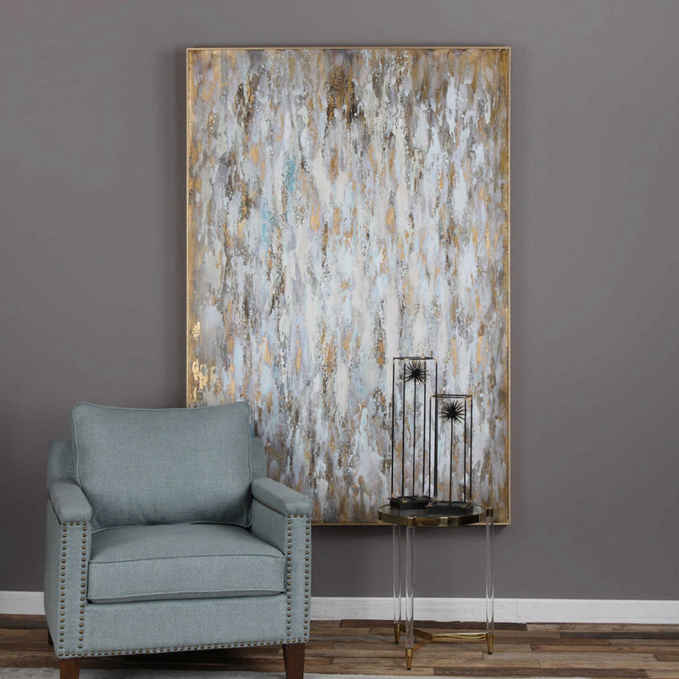 Bright Morning Hand Painted Canvas by Uttermost