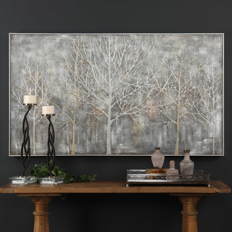 Parkview Hand Painted Canvas by Uttermost