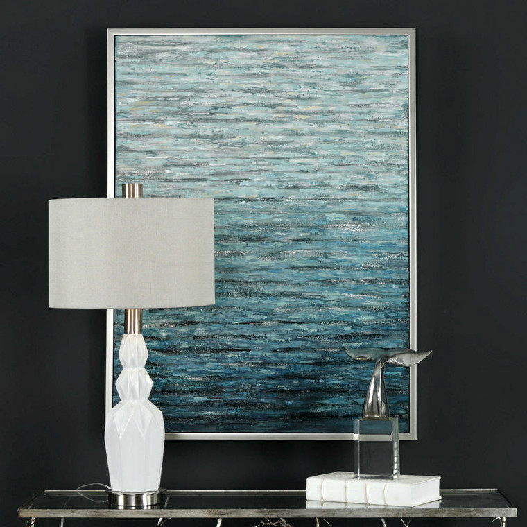 Filtered Hand Painted Canvas by Uttermost
