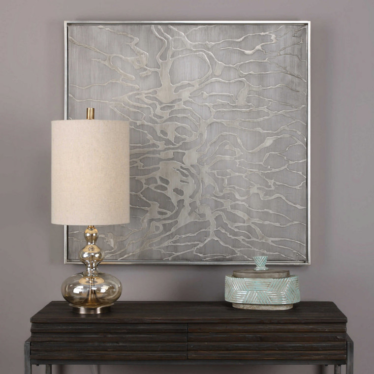 Ant Farm Hand Painted Canvas by Uttermost