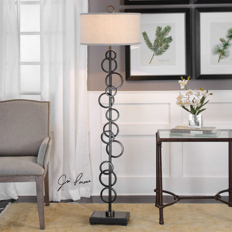 Anillo Floor Lamp by Uttermost