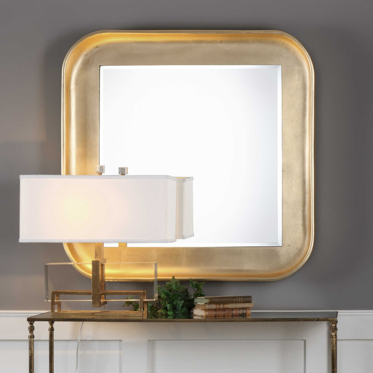 Haemon Square Mirror by Uttermost
