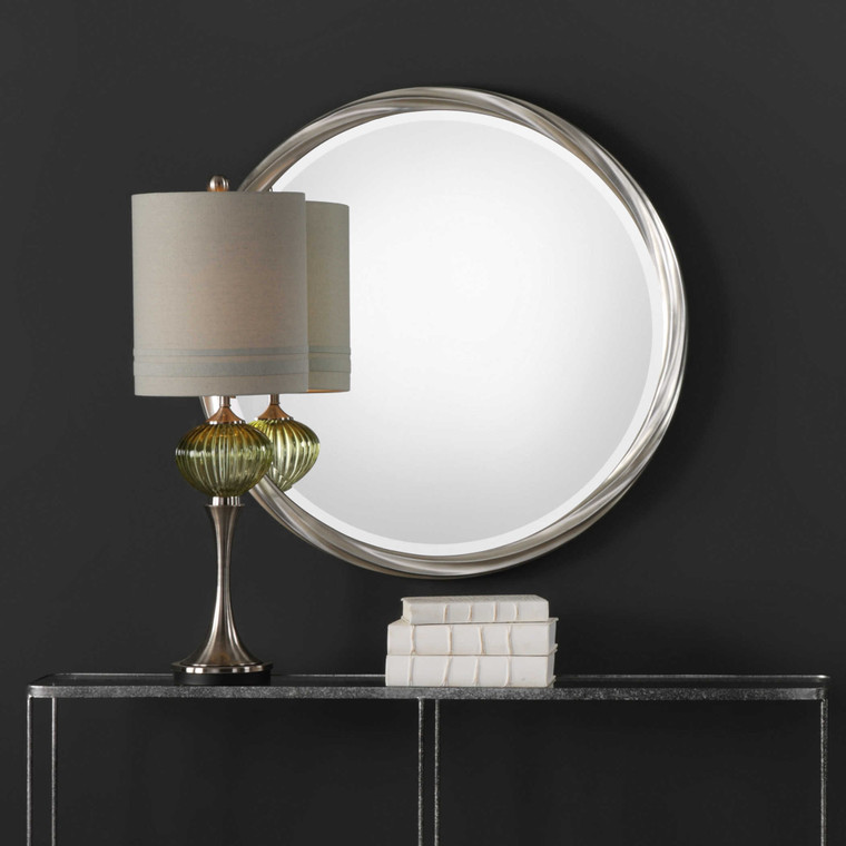 Orion Round Mirror by Uttermost