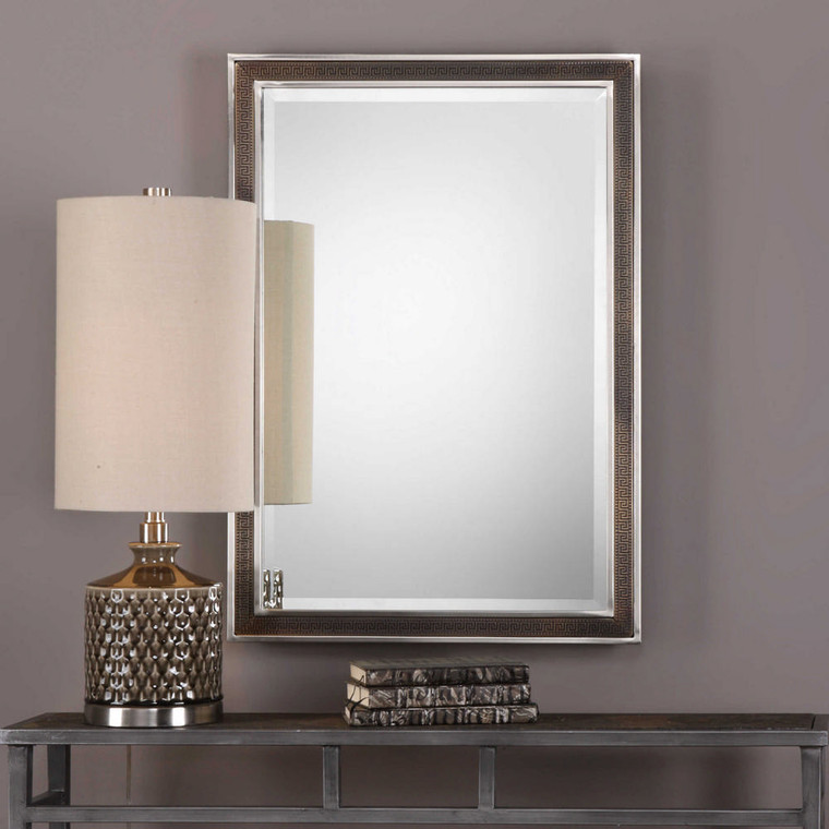 Alexius Vanity Mirror by Uttermost