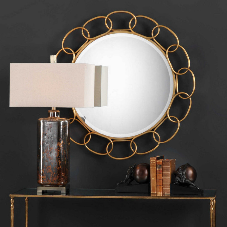 Circulus Round Mirror by Uttermost