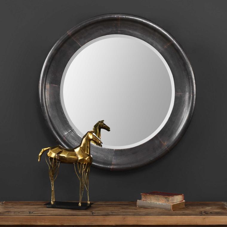 Reglin Round Mirror by Uttermost