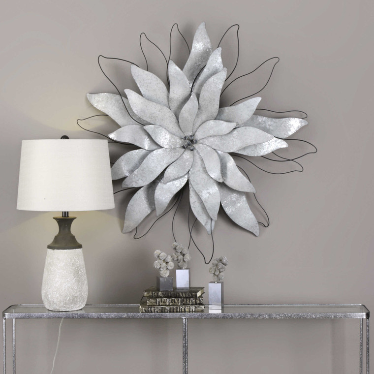 Picking Petals Metal Wall Decor by Uttermost
