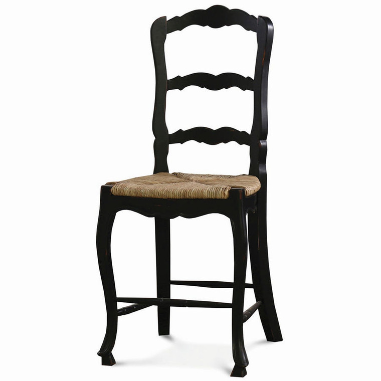 Provincial Counter Height Chair - Size: 120H x 51W x 53D (cm)