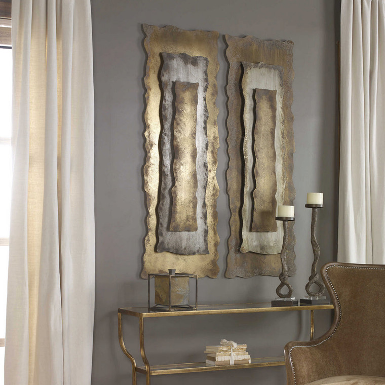 Jaymes Metal Wall Panel by Uttermost