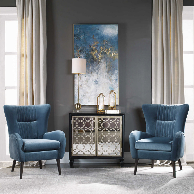 Floating Hand Painted Canvas by Uttermost