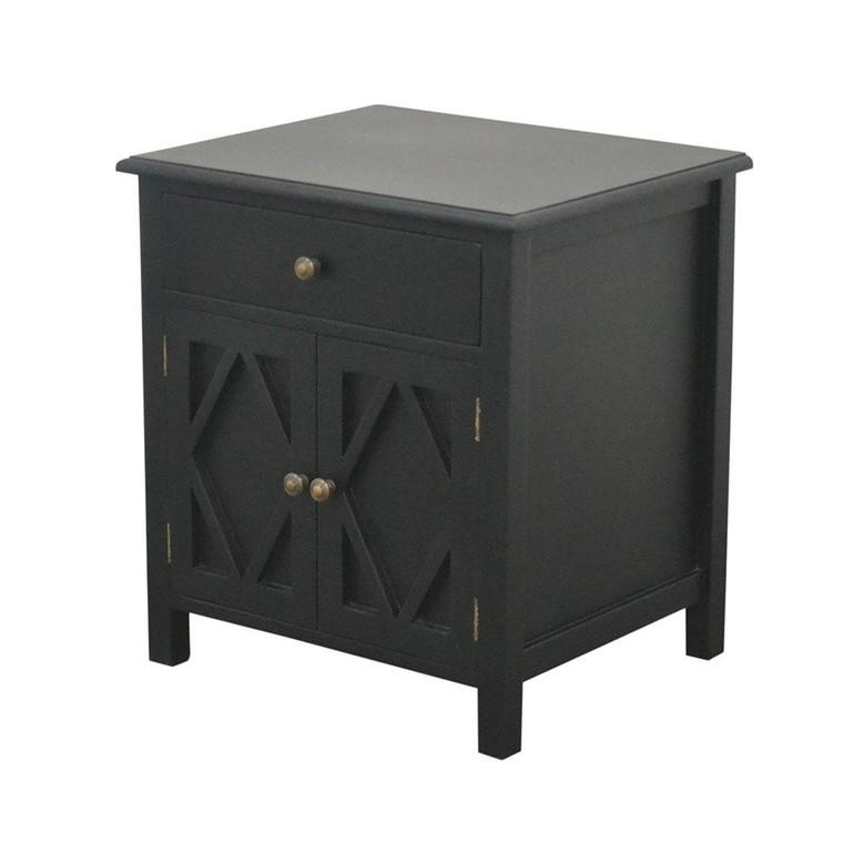 West Hampton Small Cabinet - Black