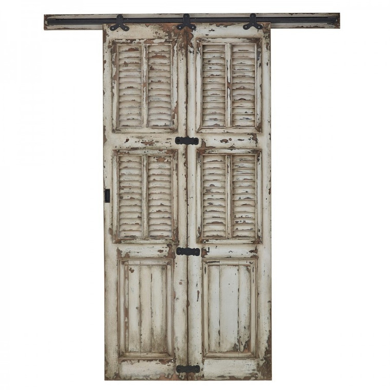 Single Shutter Sliding Door - Size: 237H x 212W x 7D (cm)