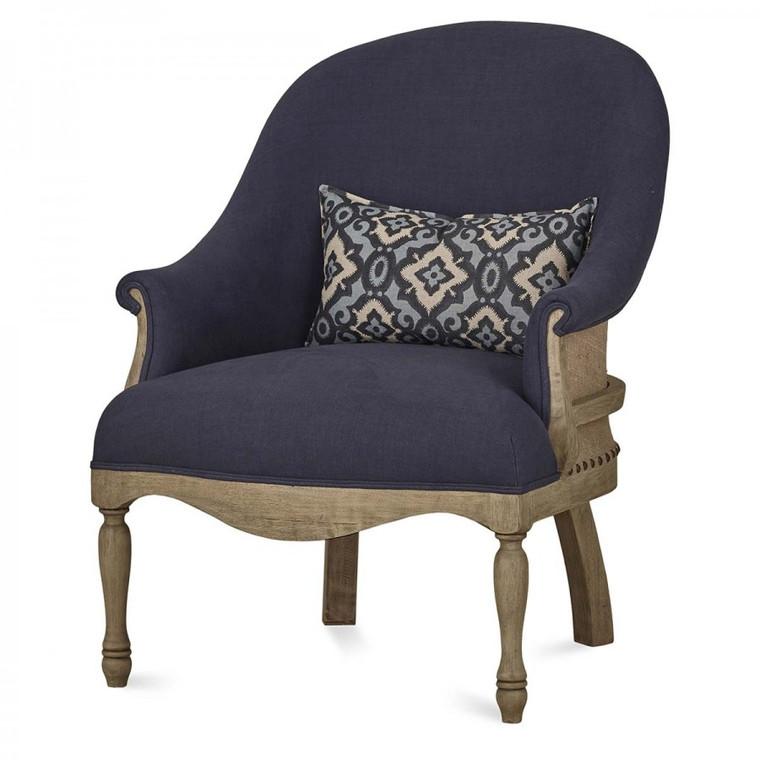 Milana Arm Chair - Size: 92H x 71W x 80D (cm)