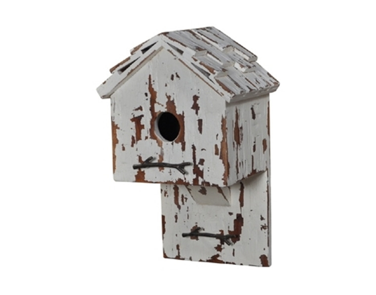 Bird House H - Hand-crafted - LAST ONE