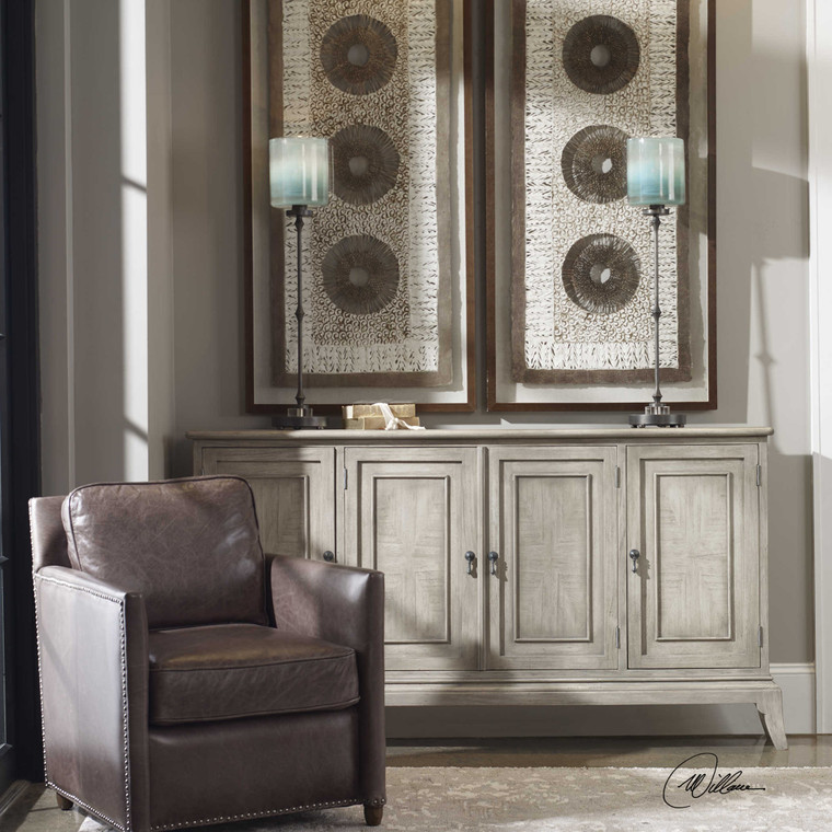 Nyle 4 Door Cabinet by Uttermost