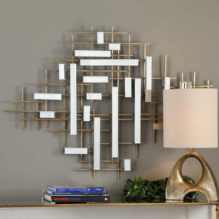 Apollo Mirrored Wall Decor by Uttermost
