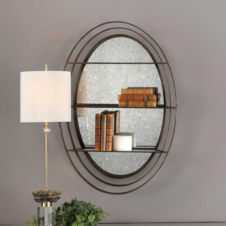 Carine Wall Shelf by Uttermost