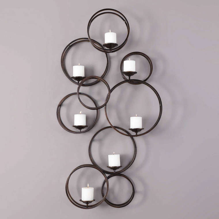 Liya Candle Sconce by Uttermost