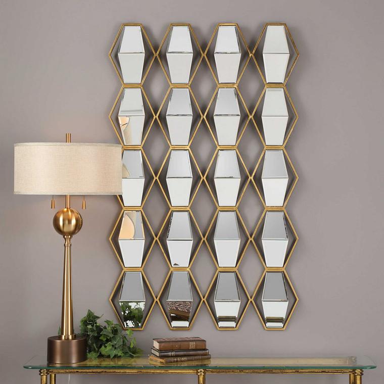 Jillian Mirrored Wall Decor by Uttermost