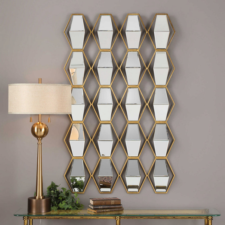 Jillian Mirrored Wall Decor by Uttermost