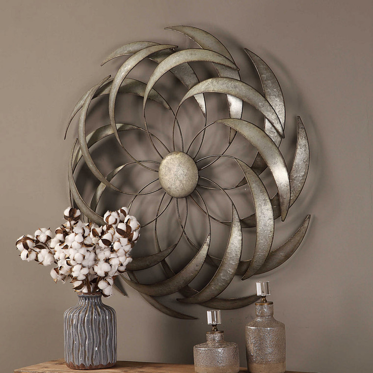 Barnes Metal Wall Decor by Uttermost