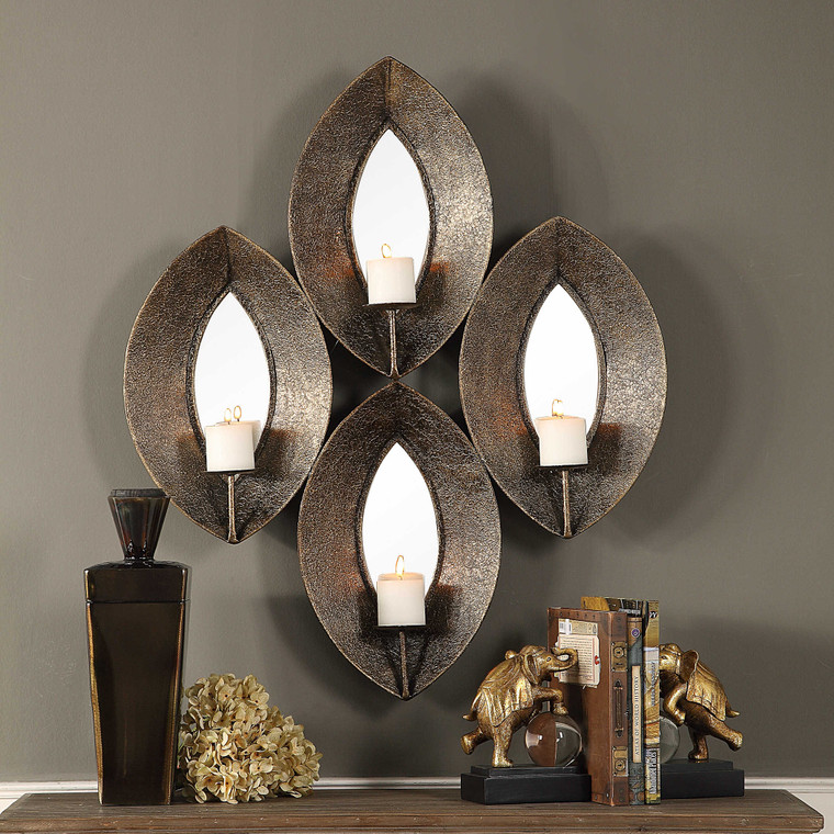 Nina Candle Sconce by Uttermost