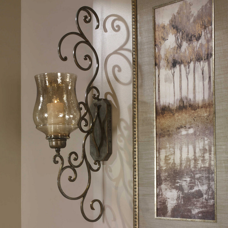 Davinia Candle Sconce by Uttermost