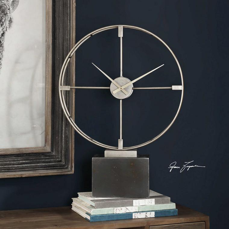 Janya Clock by Uttermost