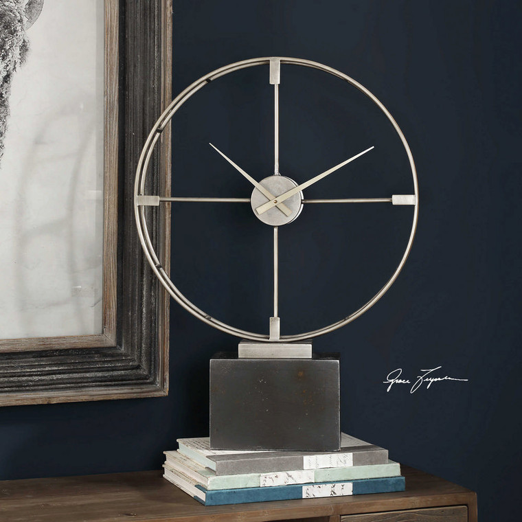 Janya Clock by Uttermost