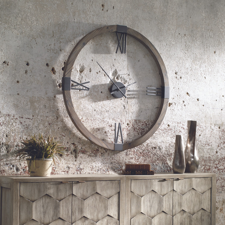 Marcelo Wall Clock by Uttermost