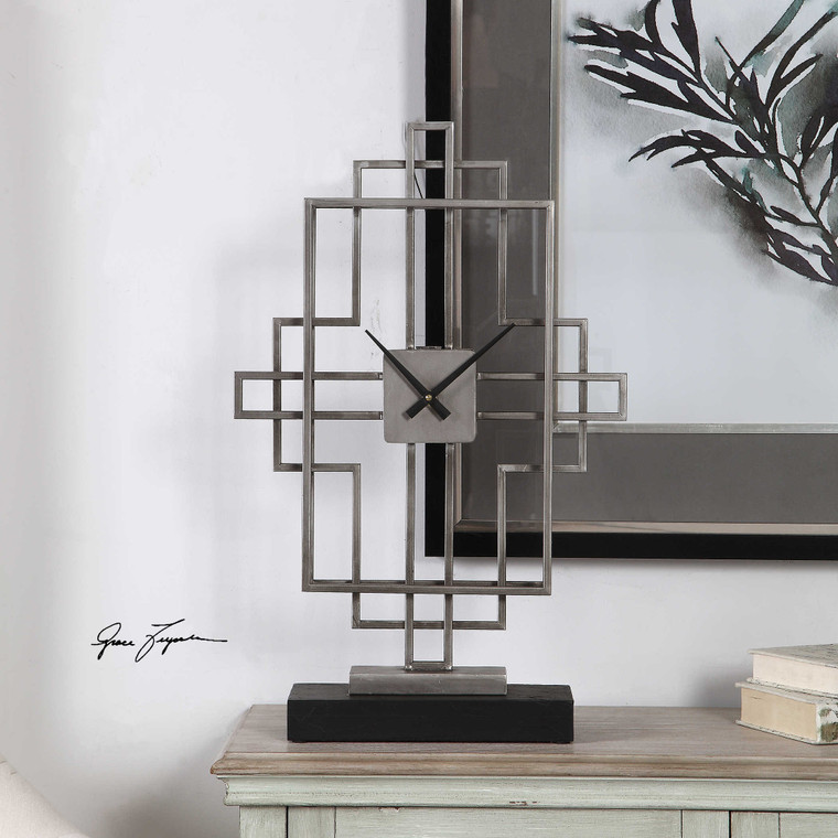 Vanini Clock by Uttermost