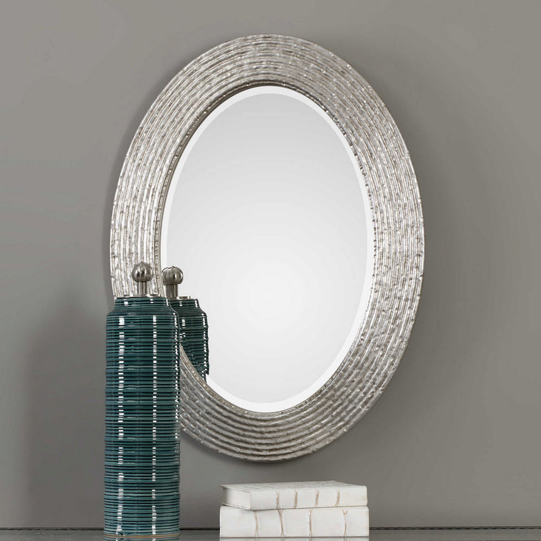 Conder Oval Mirror by Uttermost