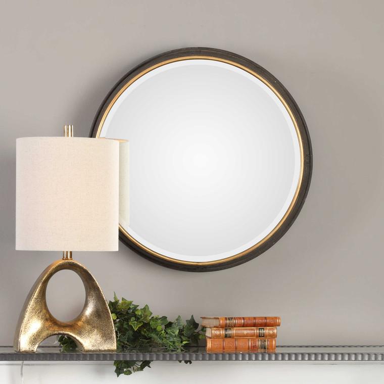 Sturdivant Round Mirror by Uttermost