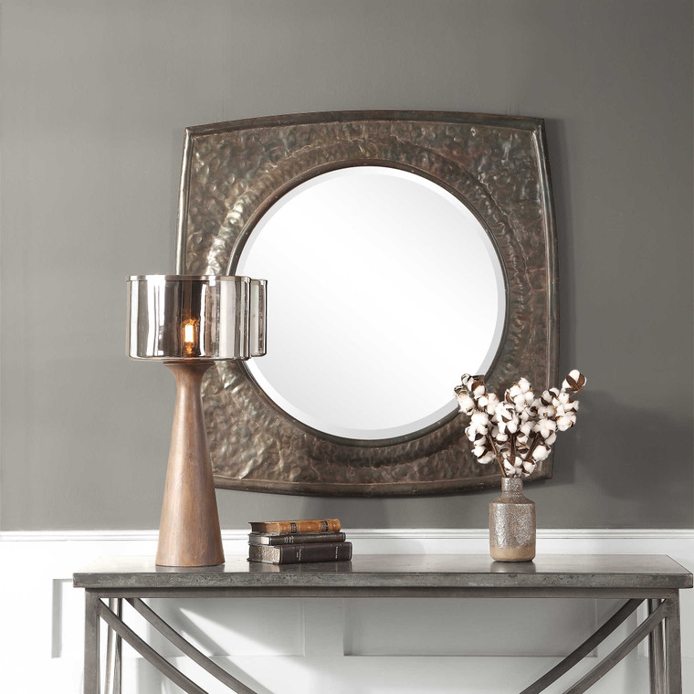 Hadeon Square Mirror by Uttermost
