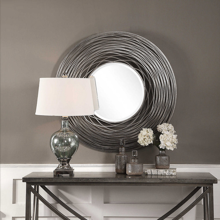Galtero Round Mirror by Uttermost
