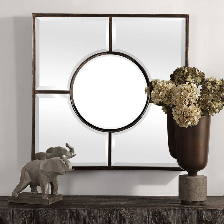 Baeden Square Mirror by Uttermost