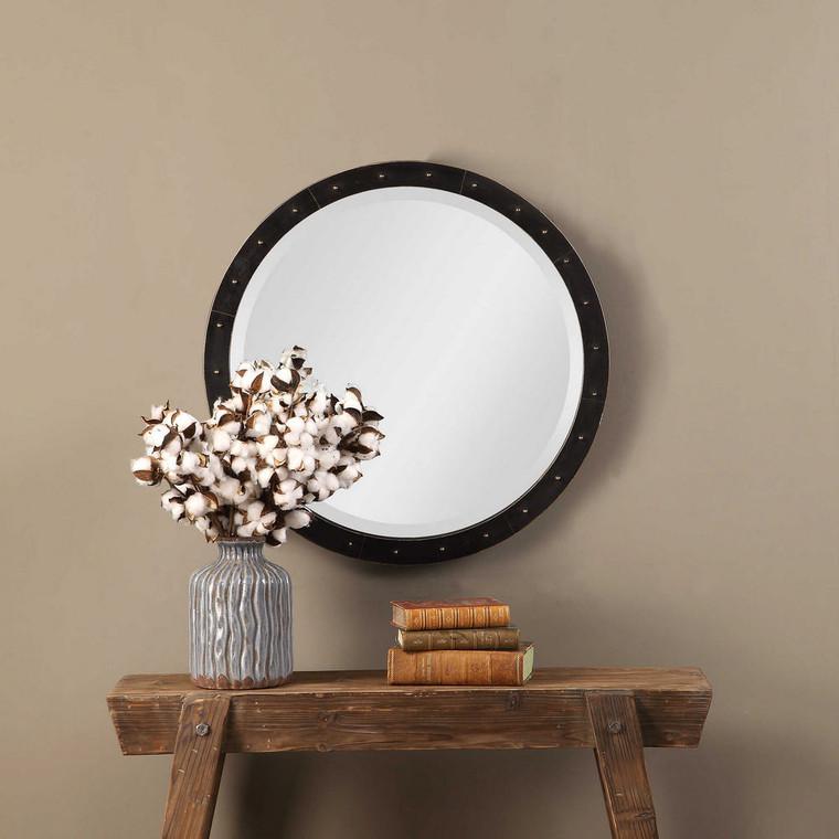 Beldon Round Mirror by Uttermost