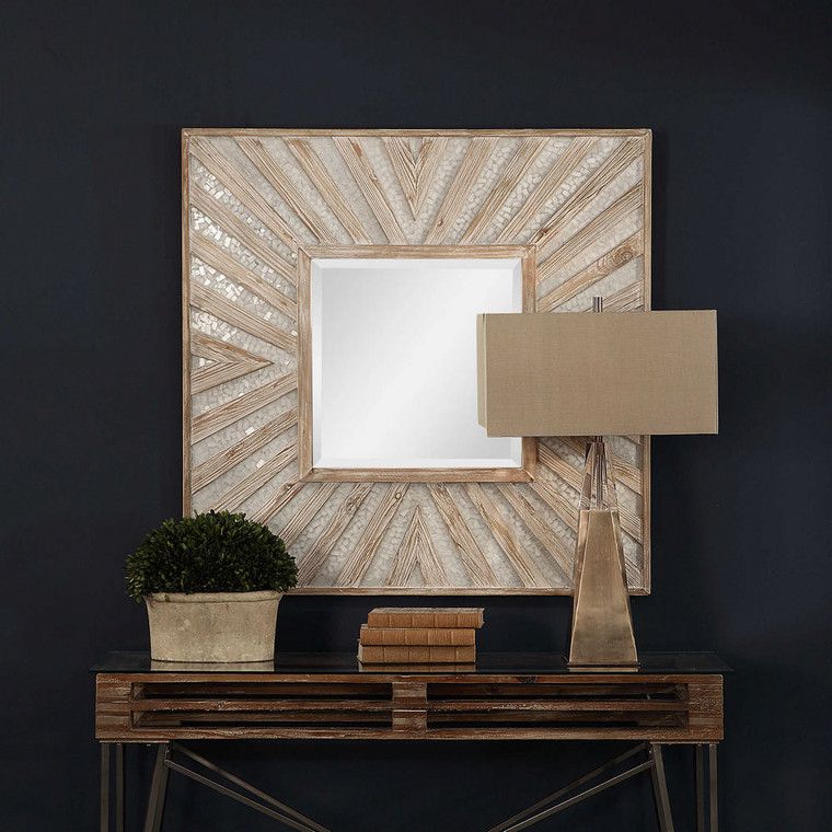 Gideon Square Mirror by Uttermost