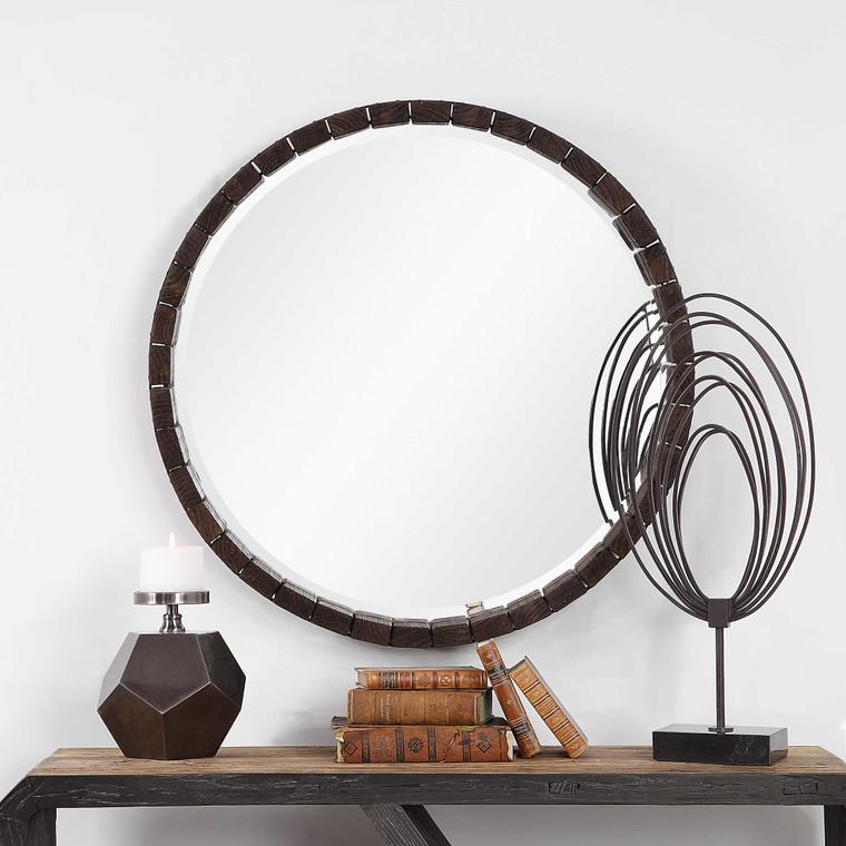 Islay Round Mirror by Uttermost