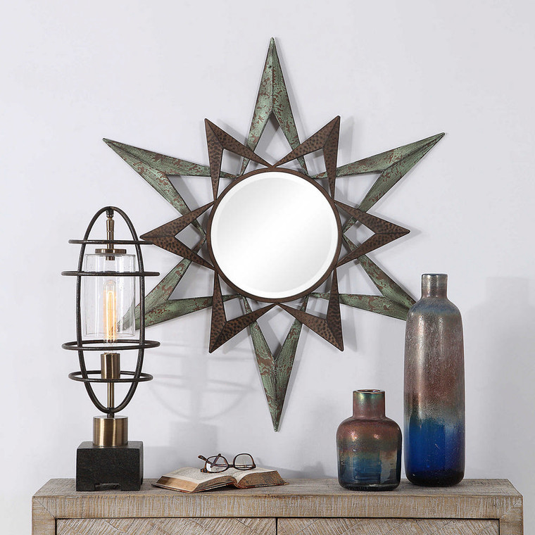 Amary Round Mirror by Uttermost