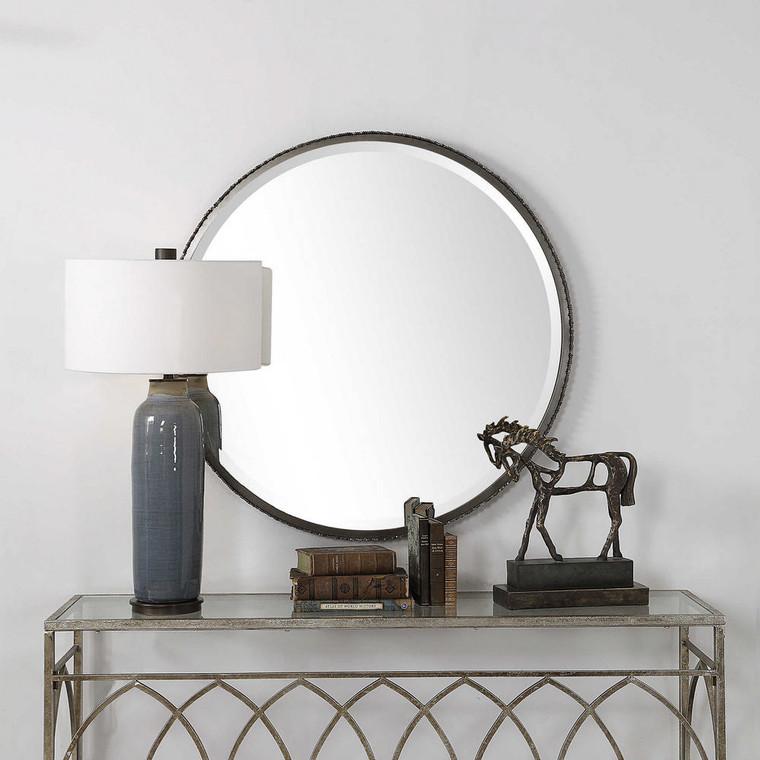 Ada Round Mirror by Uttermost