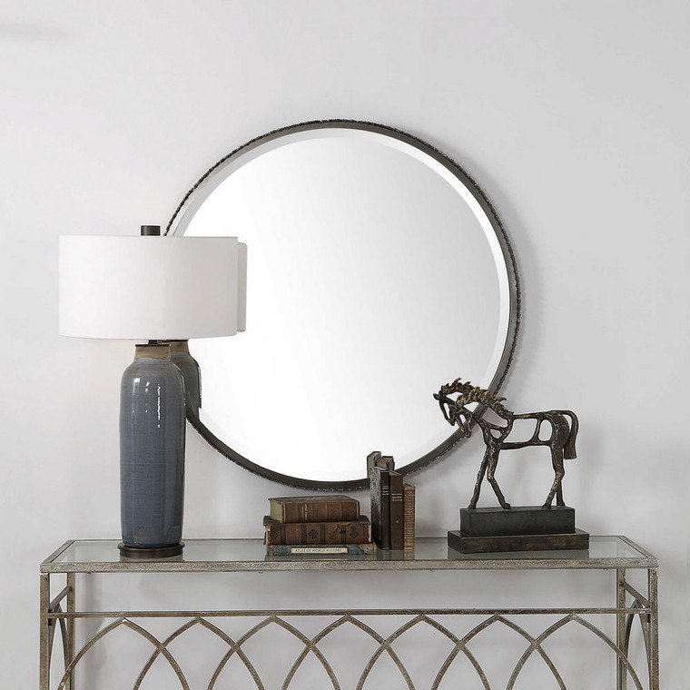 Ada Round Mirror by Uttermost