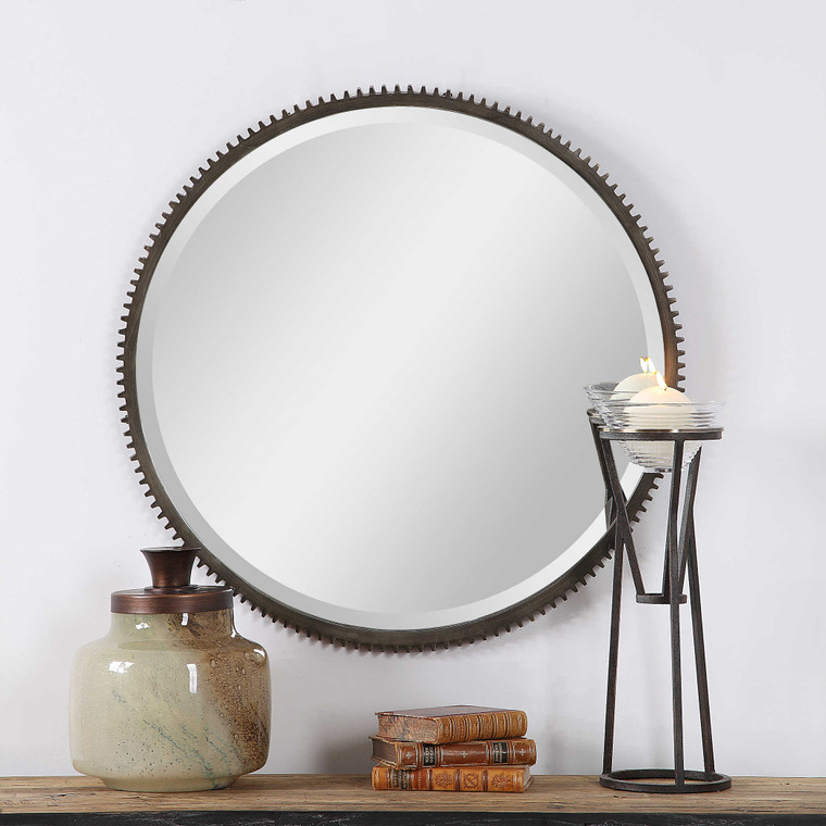 Werner Round Mirror by Uttermost