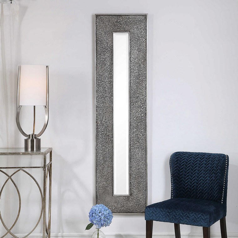 Bannon Tall Metallic Mirror by Uttermost
