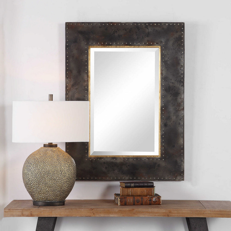 Amparo Industrial Mirror by Uttermost