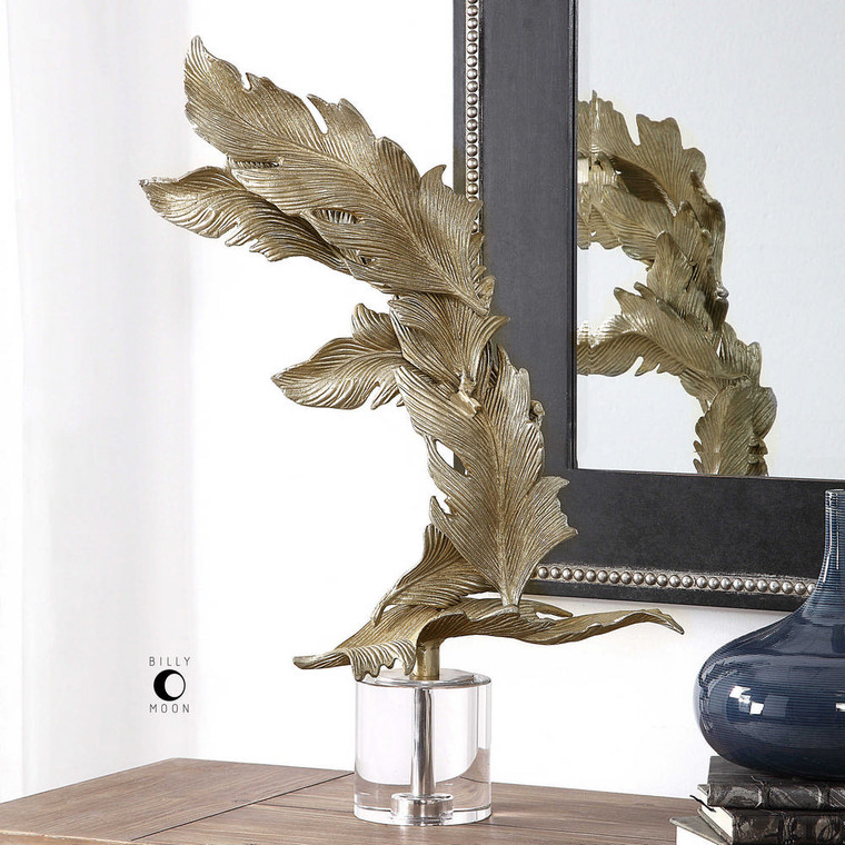 Fall Leaves Sculpture by Uttermost