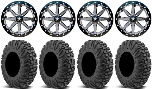MSA M21 LOK 15X7 4-137 Maverick X3 0 offset With Lugnuts