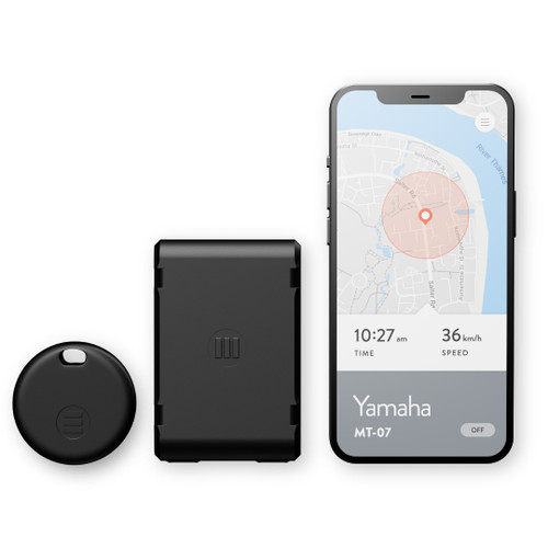 Monimoto GPS Anti-Theft Tracker 5G-LTE For ATV, UTV, Scooters, And Motorcycles